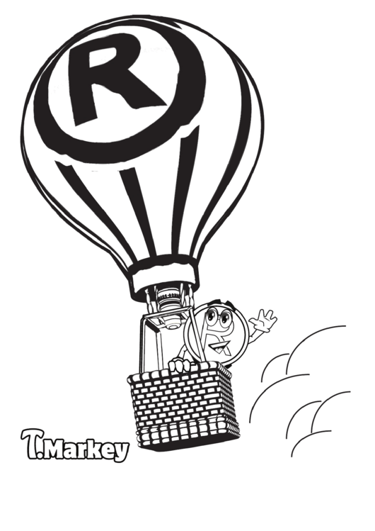 Top 8 Hot Air Balloon Coloring Sheets free to download in