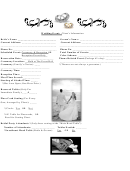 Wedding Event Dj Itinerary Worksheet printable pdf download