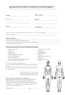 Manicure/pedicure Consultation Form printable pdf download
