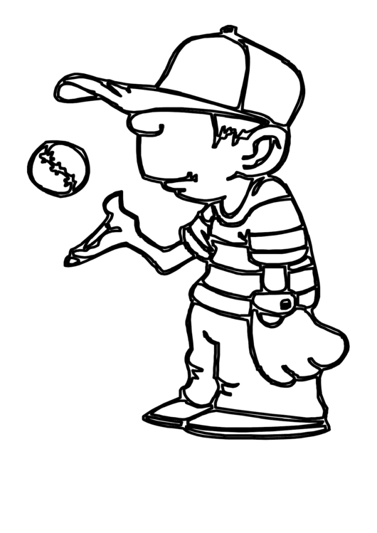 Top 37 Baseball Coloring Sheets free to download in PDF format