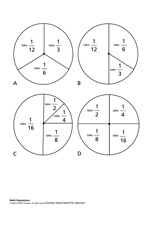 Top 14 Fraction Circles Templates free to download in PDF