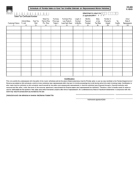 97 Florida Sales Tax Form Templates free to download in PDF