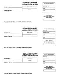 Top 29 Georgia Sales Tax Form Templates free to download ...