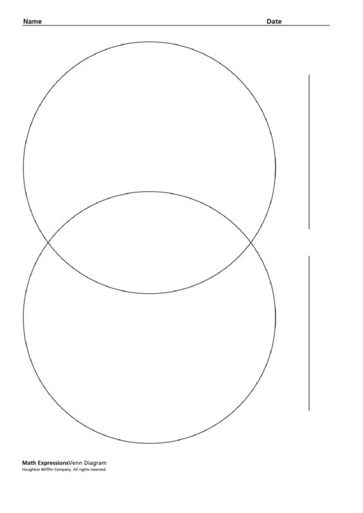 Top 76 Venn Diagram Worksheet Templates free to download