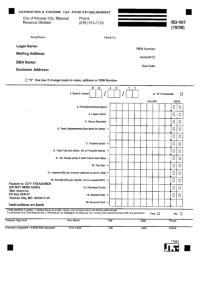 Top 36 Missouri Sales Tax Form Templates free to download ...