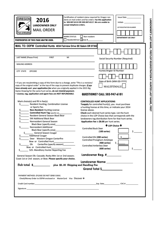 Top 8 Hunting Permission Form Templates free to download