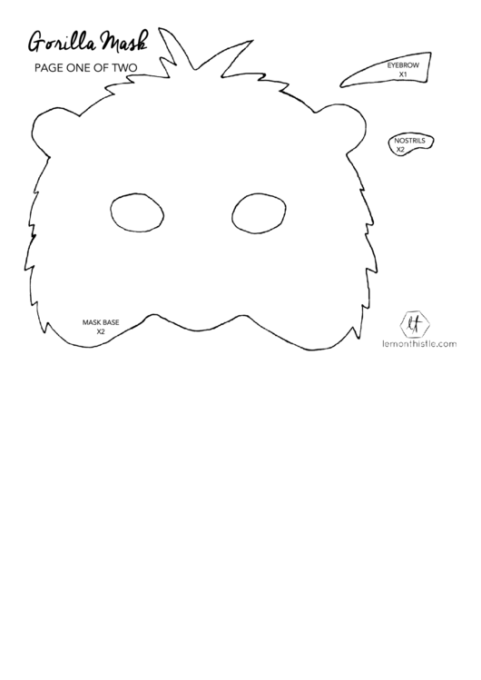 Top 5 Eye Mask Templates free to download in PDF format
