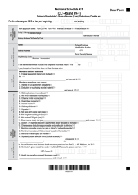 Top 148 Montana Income Tax Forms And Templates free to ...