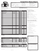 Top 6 Soccer Player Evaluation Form Templates free to