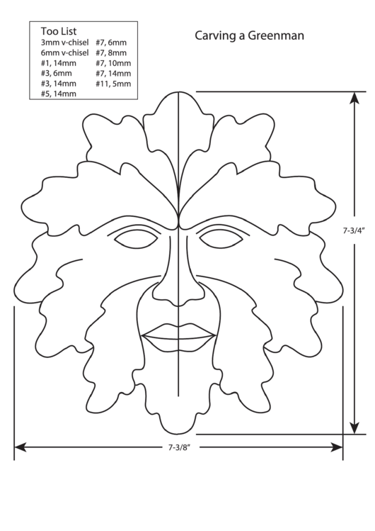 341 Carving Templates free to download in PDF