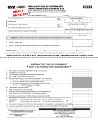 1027 New York City Department Of Finance Forms And ...