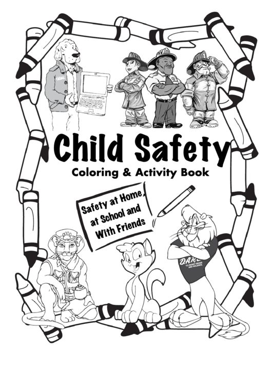 Child Safety Activity Sheets printable pdf download