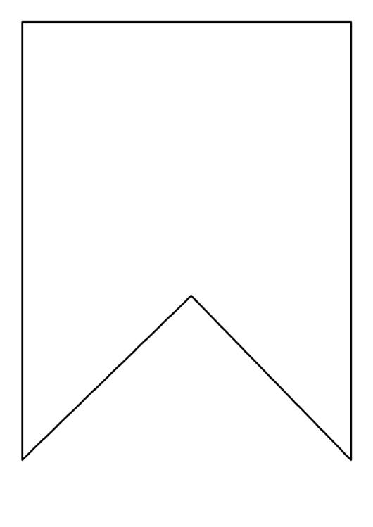 Square Bunting Pattern Template printable pdf download