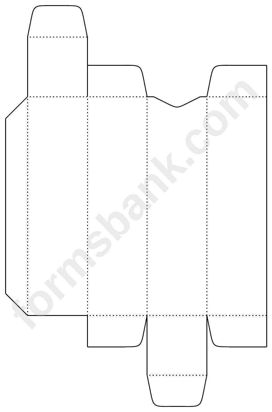 Lip Balm Box Template printable pdf download