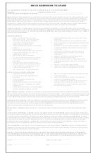 Fillable Mold Disclosure printable pdf download
