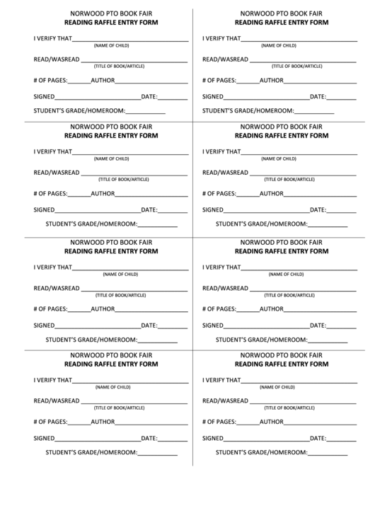 2 Drawing Entry Form Templates free to download in PDF
