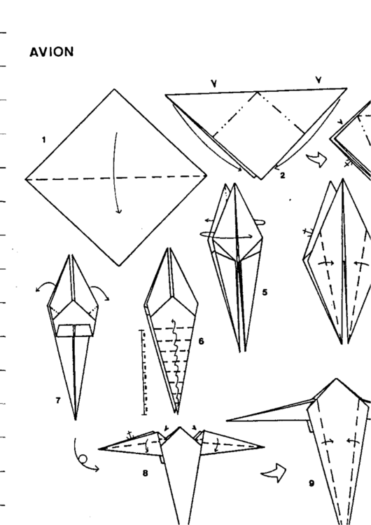 Top 39 Paper Airplane Instructions free to download in PDF