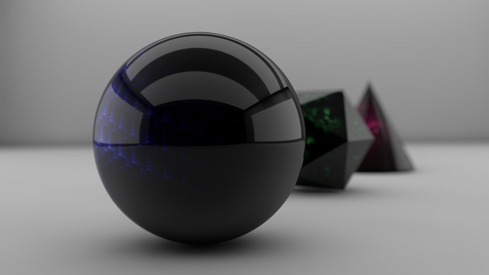 3d Glass Full Hd Wallpaper Hd Ball Shape Shadow Figures Wallpaper Download Free