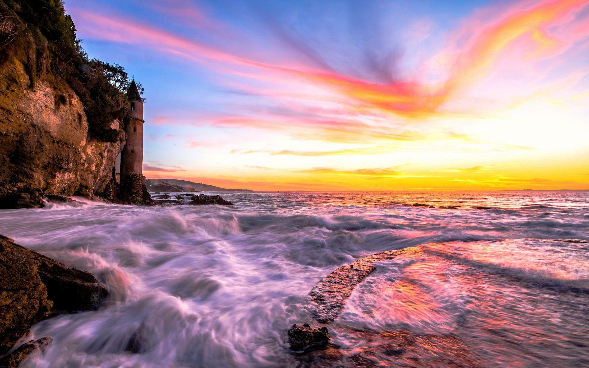 HD Colorful sunset sky Wallpaper  Download Free  149116