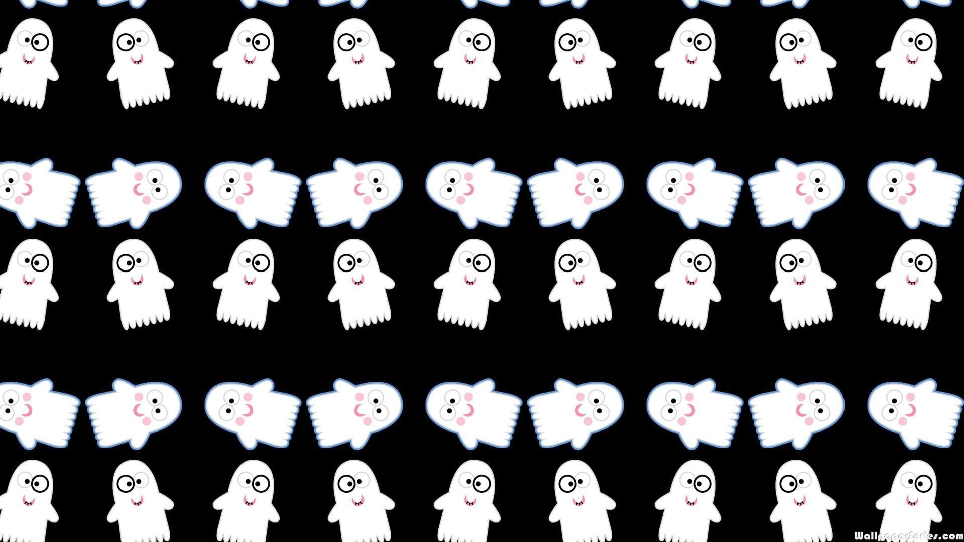 Ghost Data Girls Love Wallpaper Hd Cute Funny Ghost Pattern Wallpaper Download Free 139265