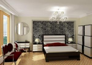 interior condo bedroom apartment luxury royal decor homes decorations bed modern living decoration wallpapers designs rooms interiors wall india furniture