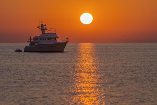 hd landscape ship sea sun sunny