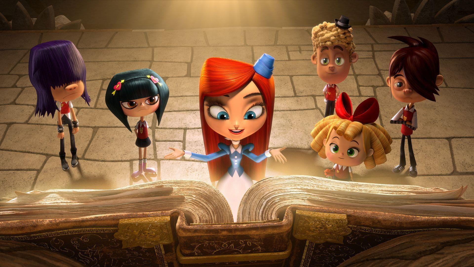 Cute Morning Coffee Wallpaper Hd Looking At The Big Book The Book Of Life Wallpaper