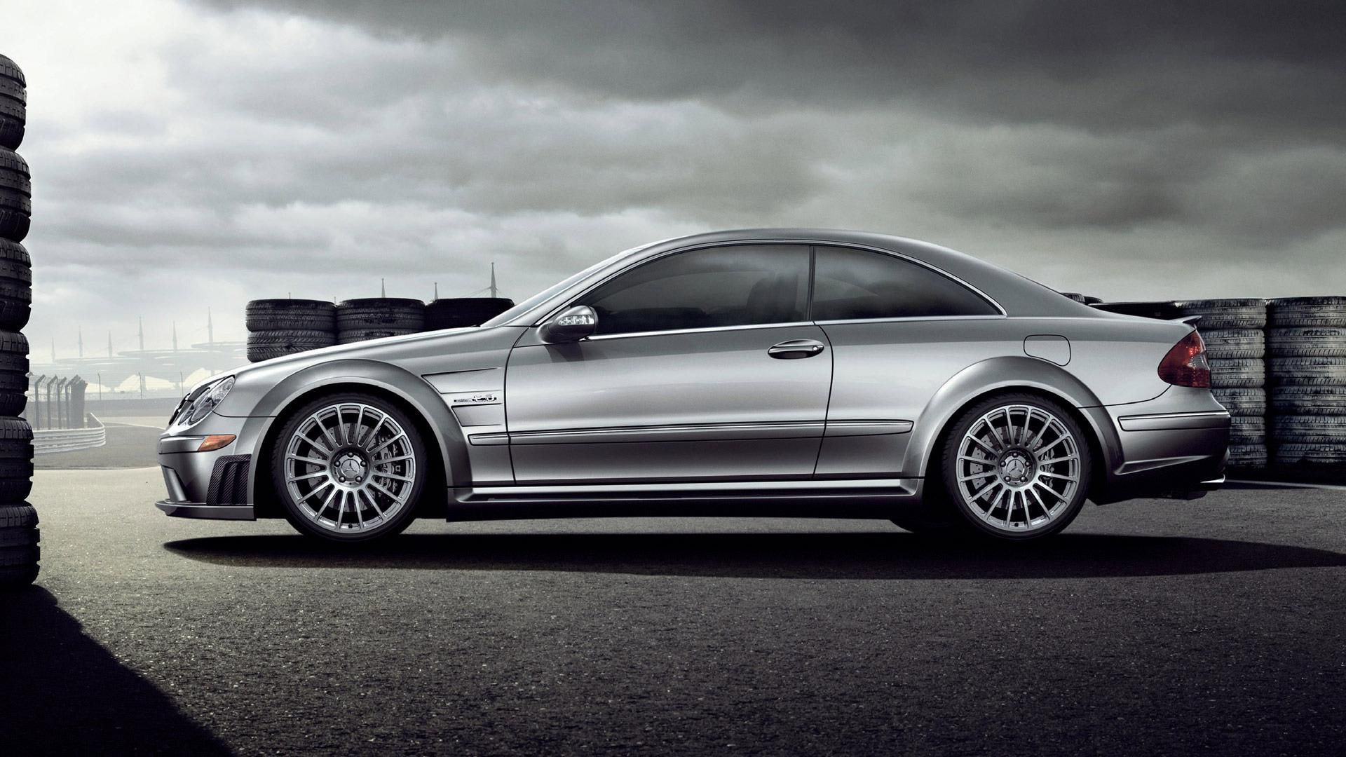 Girl Side Face Wallpaper Hd Mercedes Benz Clk63 Amg Side View Wallpaper Download