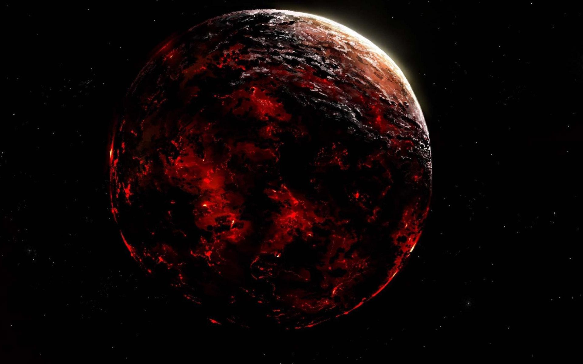 Black Hole Animated Wallpaper Hd Red Planet On Fire Wallpaper Download Free 149077