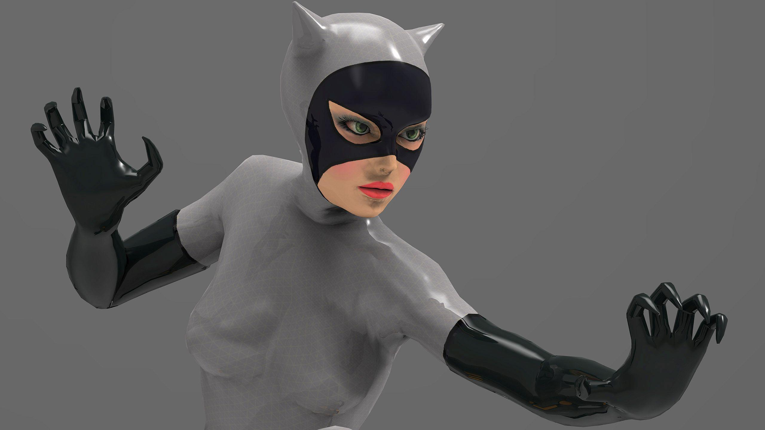 Cute Small Baby Wallpapers Hd Hd Shiny Catwoman Wallpaper Download Free 149423
