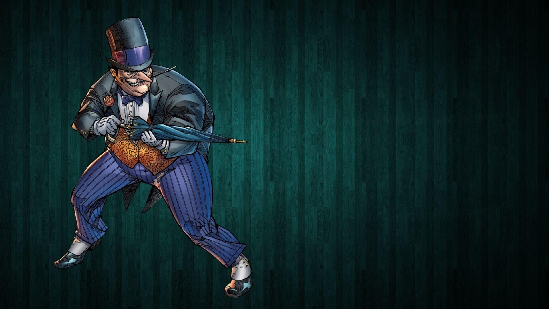 The Joker Animated Wallpaper Hd The Penguin With His Umbrella Batman Wallpaper