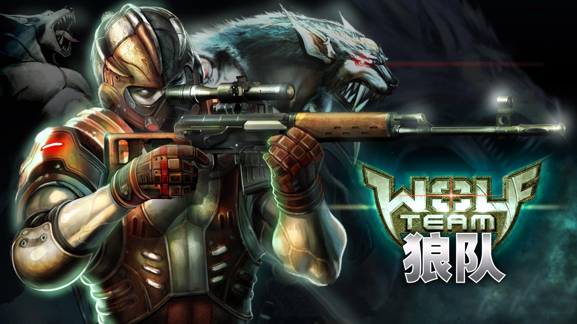 HD Wolf Team sniper Wallpaper  Download Free  148569