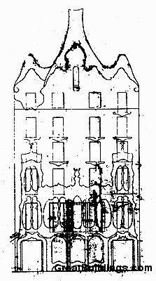 Great Buildings Drawing  Casa Batllo