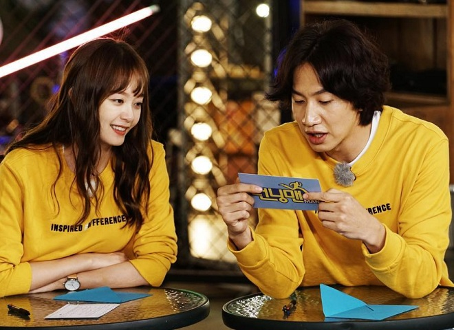 running man ratings climb