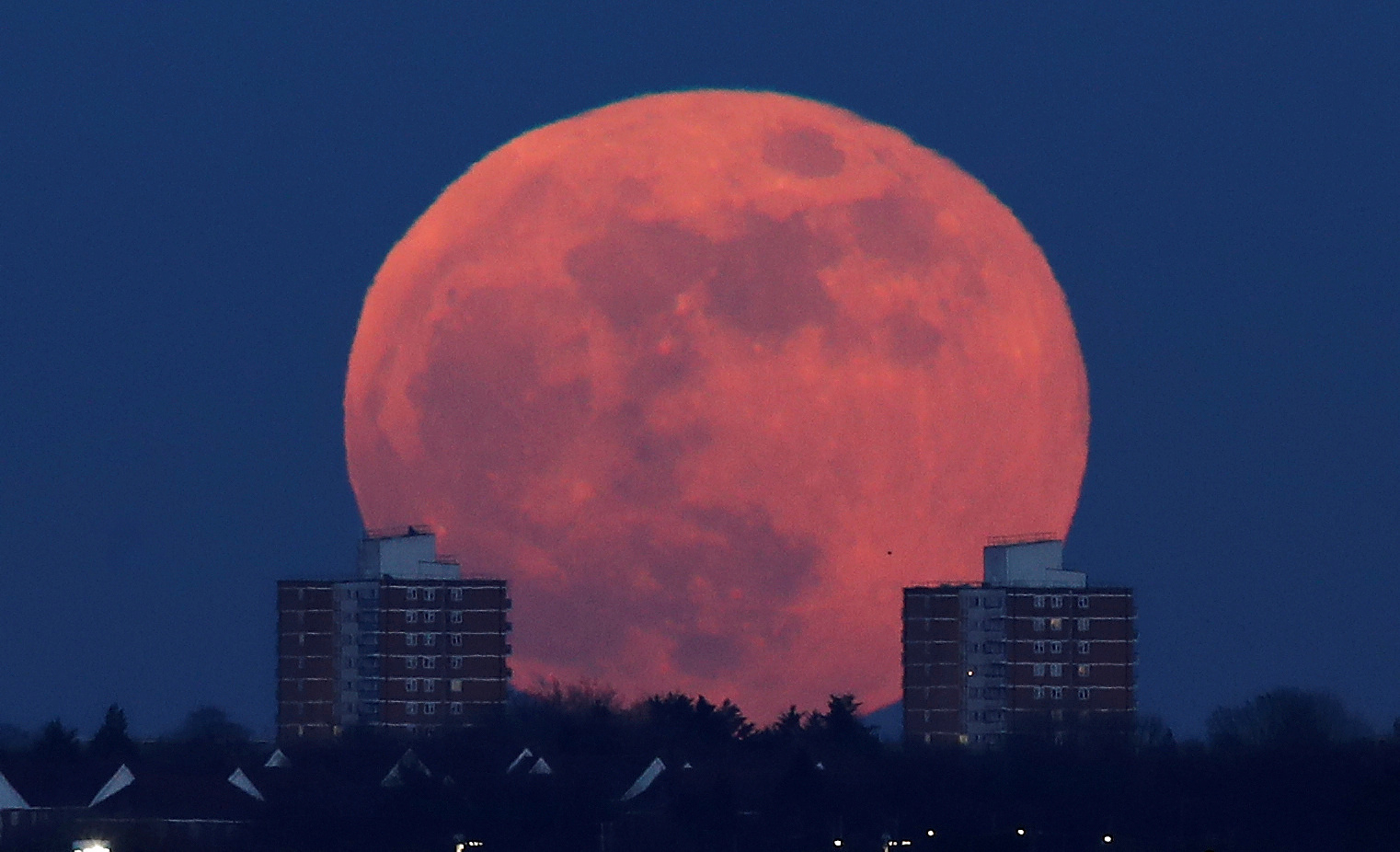 It's a seasonal blue moon!. Halloween Blue Moon is an Apocalyptic Sign from Heaven, Claims Doomsday Preacher
