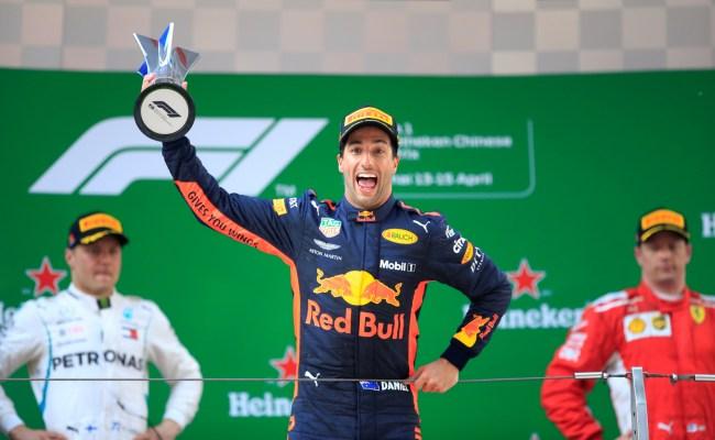 F1 Red Bull S Ricciardo Wins Chaotic Chinese Gp