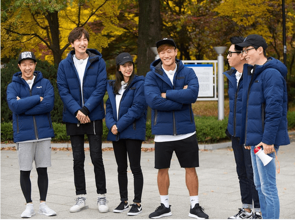 running man details of
