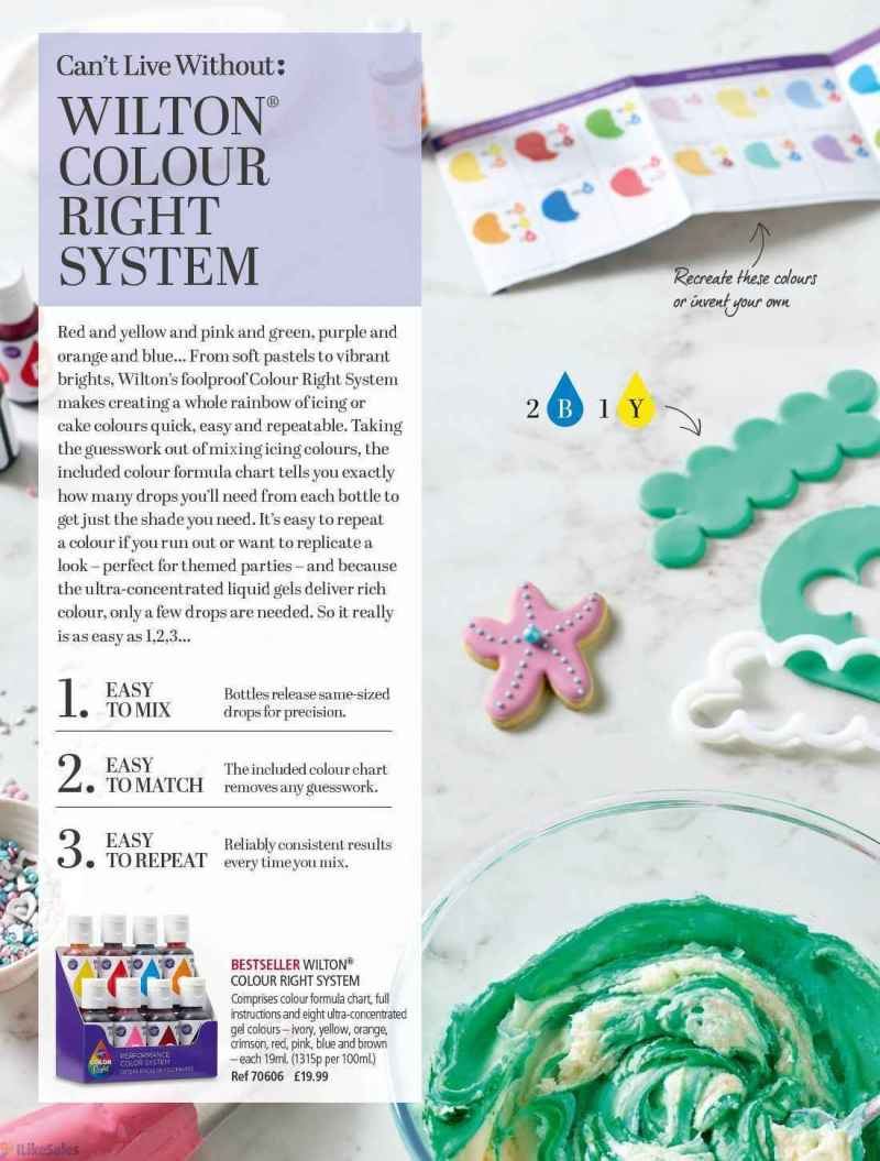 Wilton Food Coloring Chart Images - Free Any Chart Examples