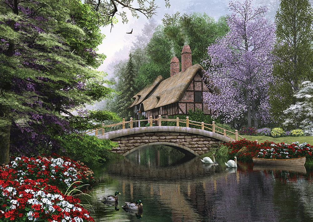 Puzzle Stone Bridge Art Puzzle 4620 1500 Pieces Jigsaw