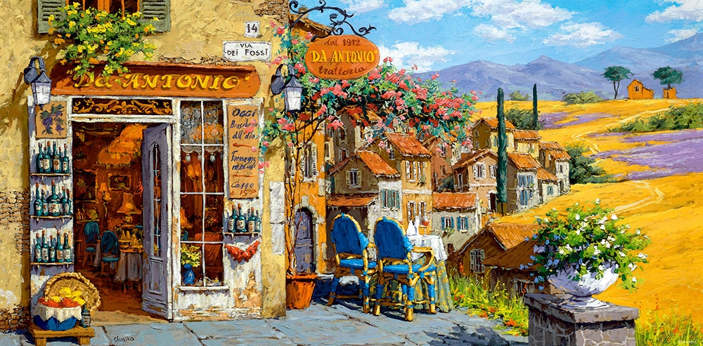Colors Tuscany Italy