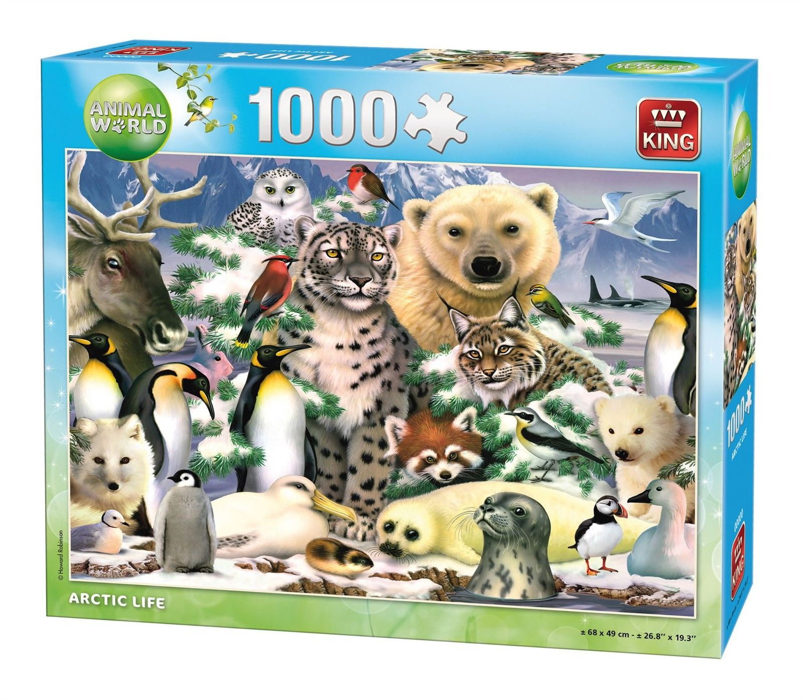 Puzzle Artic Life King Puzzle Pieces Jigsaw