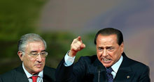 Marcello Dell Utri e Silvio Berlusconi
