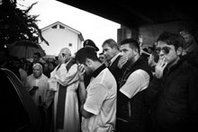 Pollica. Il funerale del sindaco Angelo Vassallo Foto di Emiliano Mancuso