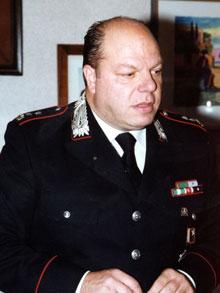 Il tenente colonnello Luigi Verde