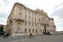 La sede della Regione a Trieste