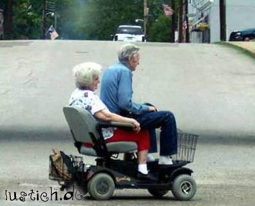 Rentnerpaar Bild  lustichde