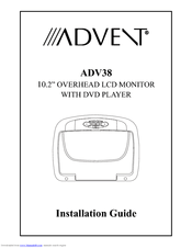 Advent ADV38 Manuals