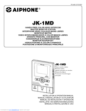 Aiphone JK-1MD Manuals