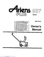 Ariens 937 Manuals