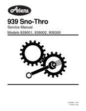 Ariens 939 SNO-THRO 939001 Manuals